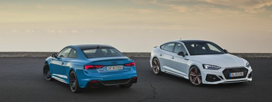 Upgrades for the Audi RS 5 and RS 5 Sportback. Image by Audi AG.