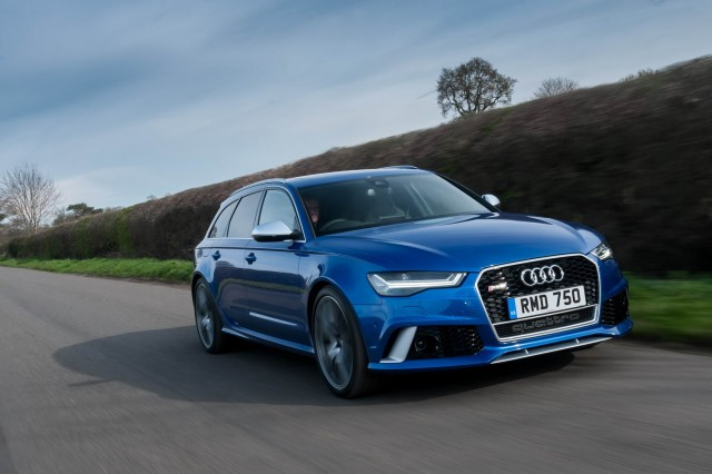Driven: Audi RS 6 Avant performance. Image by Audi.