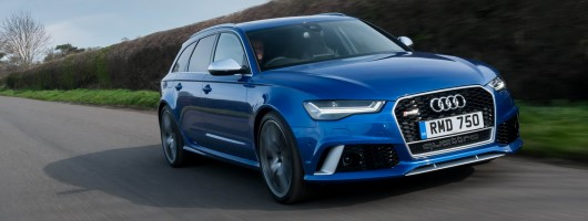 Driven: Audi RS 6 Avant performance. Image by Audi.
