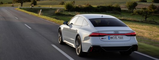First drive: Audi RS 7 Sportback. Image by Audi AG.