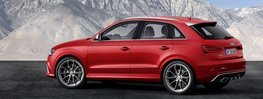 Audi introduces RS Q3. Image by Audi.