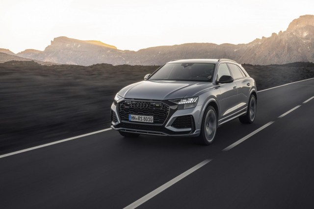 First drive: Audi RS Q8. Image by Audi AG.