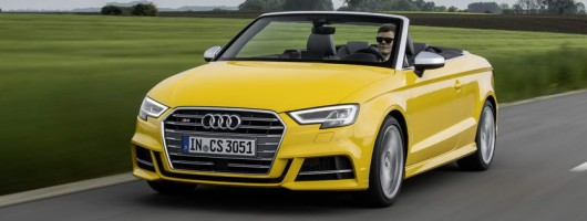 First drive: Audi S3 Cabriolet. Image by Audi.