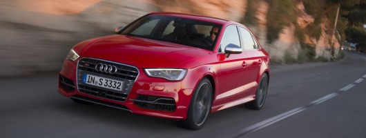 First drive: Audi S3 Saloon. Image by Audi.