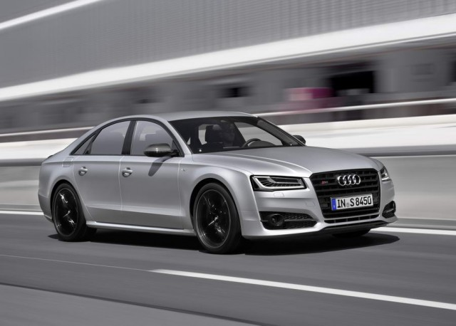 First drive: Audi S8 plus. Image by Audi.