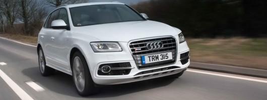 Driven: Audi SQ5. Image by Audi.