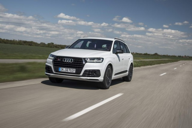 First drive: Audi SQ7 TDI. Image by Audi.