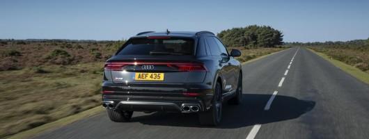 Driven: Audi SQ8 Vorsprung. Image by Audi UK.