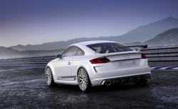 2014 Audi TT quattro sport concept. Image by Audi.