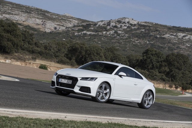 First drive: Audi TT TDI Ultra. Image by Audi.