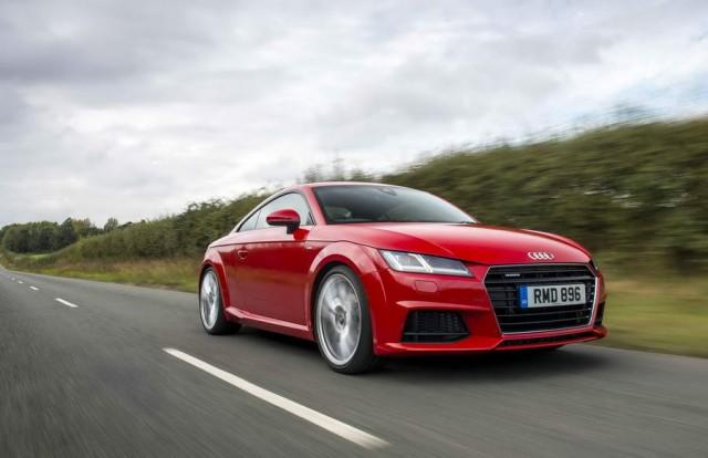 Driven: Audi TT Coupé 230 quattro. Image by Audi.