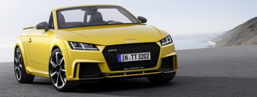Audi targets Porsche with scorching TT RS. Image by Audi.