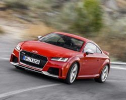 New 400hp Audi TT RS. Image by Audi.