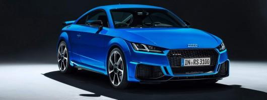 Audi gently tweaks TT RS for 2019. Image by Audi.