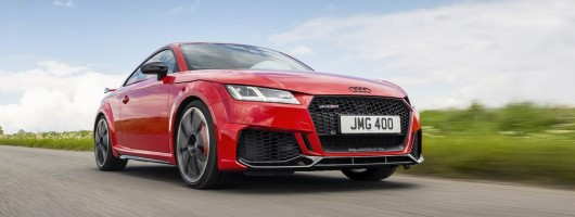 First drive: Audi TT RS Coupe (2019MY). Image by Audi.