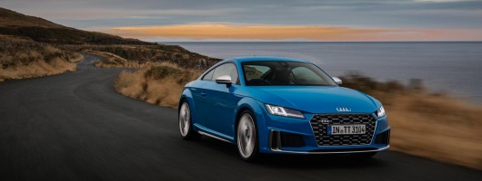 Driven: Audi TTS Coupe. Image by Audi UK.
