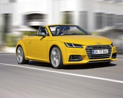 Incoming: Audi TT Roadster. Image by Audi.