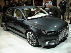 2008 Audi A1 Sportback concept. Image by Kyle Fortune.