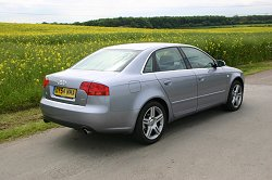 2005 Audi A4 1 8t Saloon Review Car Reviews By Car Enthusiast