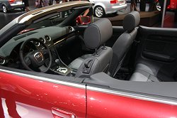 2005 Audi A4 Cabriolet. Image by Shane O' Donoghue.