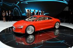 2009 Audi e-tron concept. Image by Kyle Fortune.
