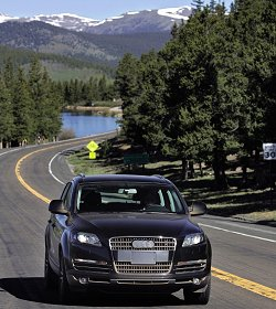2006 Audi Q7 Prototype in pre-production testing. Image by Audi.