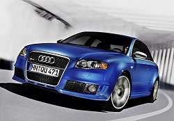 2005 Audi RS4. Image by Audi.