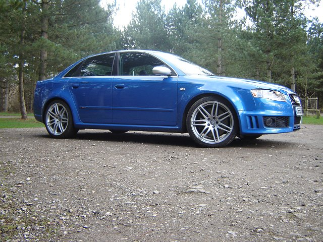 The Car Enthusiast Image Gallery 2006 Audi Rs4