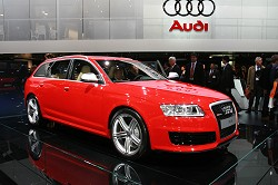 2008 Audi RS6 Avant. Image by Newspress.