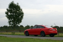 2009 Audi RS6 saloon. Image by Kyle Fortune.
