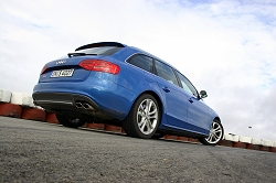 2009 Audi S4 Avant. Image by Kyle Fortune.