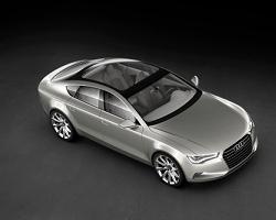 2009 Audi Sportback Concept. Image by Audi.