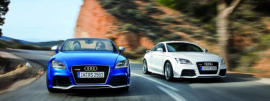 TT RS-ed. Image by Audi.