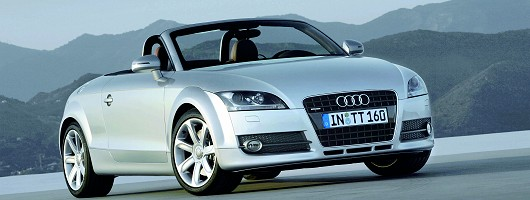 New Audi TT Roadster on sale. Image by Audi.