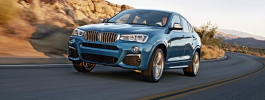 BMW launches X4 M40i SUV. Image by BMW.
