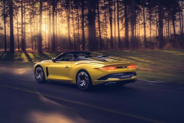 Bentley Bacalar is a coachbuilt beauty. Image by Bentley.