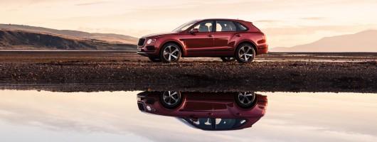 Bentley Bentayga adds a V8 petrol. Image by Bentley.