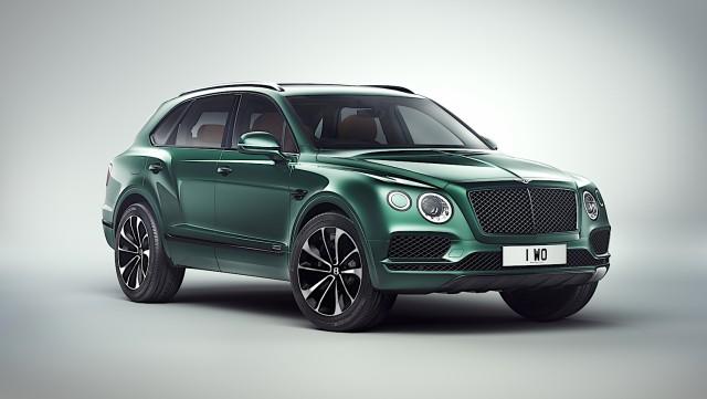Unique Bentley Bentayga inspired by Cheltenham Festival. Image by Bentley.