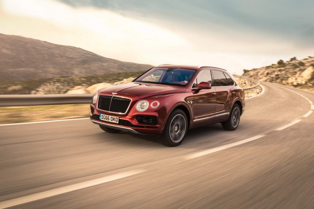 Driven: Bentley Bentayga Diesel. Image by Bentley.