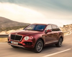 Diesel Bentley SUV. Image by Bentley.