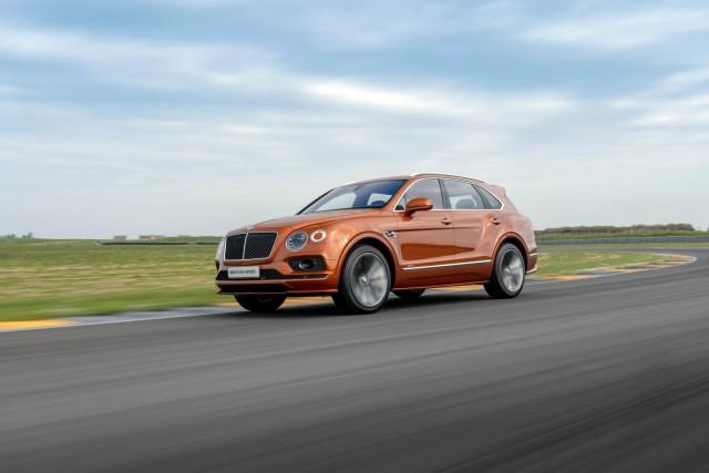 First drive: Bentley Bentayga Speed. Image by Bentley.