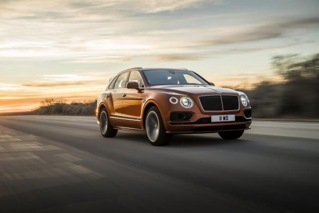Driven: Bentley Bentayga Speed. Image by Bentley.