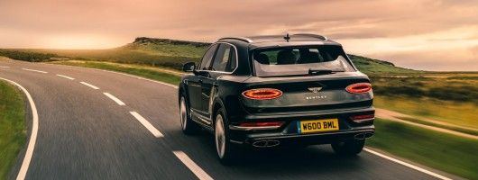 First drive: Bentley Bentayga 2020MY. Image by Bentley.