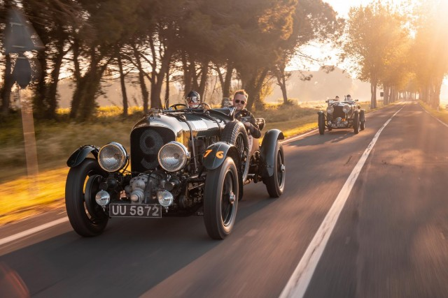 Bentley Blower rides again! Image by Bentley UK.
