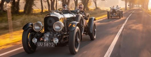 Bentley Blower rides again! Image by Bentley UK.