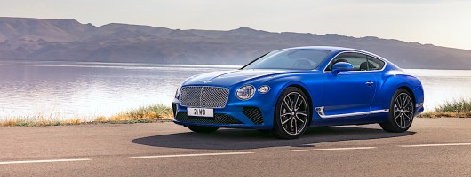 Bentley launches all-new Continental GT. Image by Bentley.
