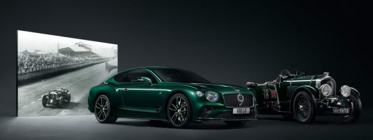 Bentley honours Blower with Conti GT limited edition. Image by Bentley.