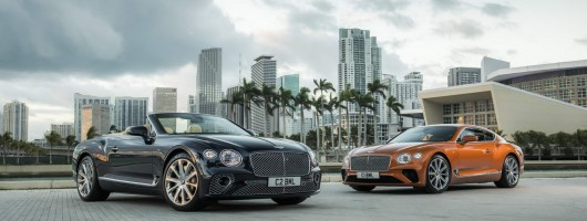 V8 motor joins Bentley Continental family. Image by Bentley.