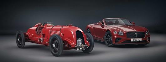 Bentley Continental GTC honours No.1 Blower. Image by Bentley.