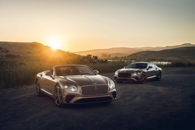 Continental GT V8 on sale for Bentley. Image by Bentley.